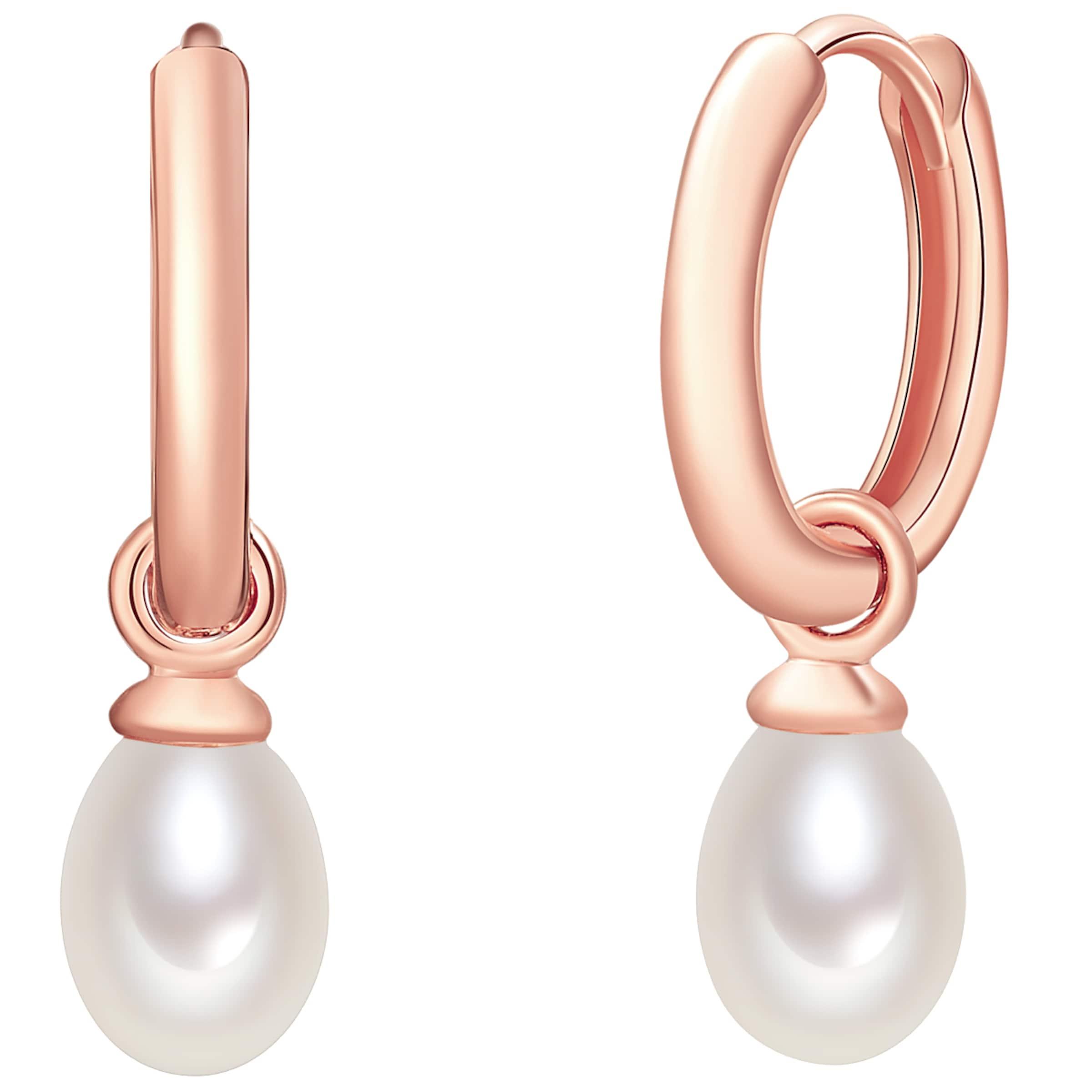 Marktfähig Valero Pearls Silber-Creolen mit Perlenanhänger Verkauf Manchester Großer Verkauf 4UJHXG