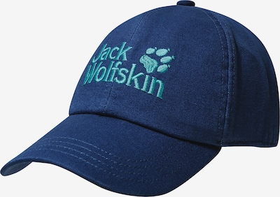 JACK WOLFSKIN Cap 'Baseball' in hellblau / dunkelblau, Produktansicht