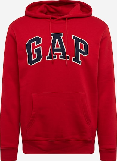 GAP Kapuzenpullover 'FLEECE ARCH' in rot, Produktansicht