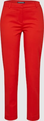 TOMMY HILFIGER Broek 'NEW PENNY ANKLE PANT' in Rood