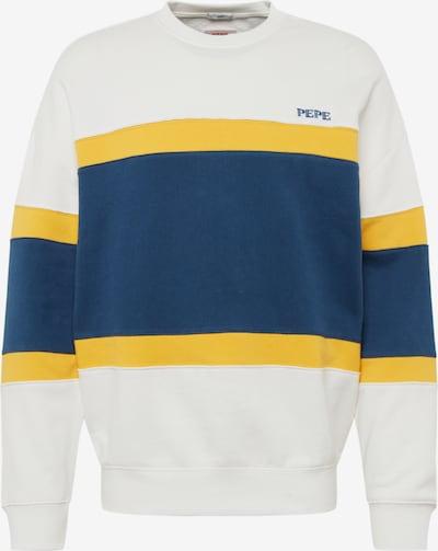 Bluză de molton 'LORNE' Pepe Jeans pe albastru închis / galben / alb, Vizualizare produs