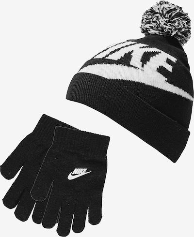 Nike Sportswear Set 'Swoosh Pom' in schwarz / weiß, Produktansicht