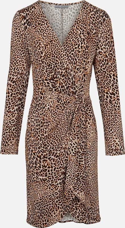 Heine Kleid Kleid Kleid in camel   braun   schwarz  Große Preissenkung 1729a8