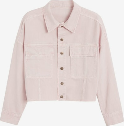 MANGO Jeansjacke 'Melissa' in pink, Produktansicht
