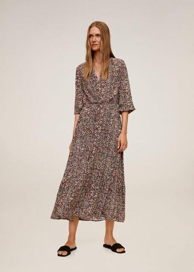MANGO Kleid 'Apple' in mischfarben / rot, Modelansicht