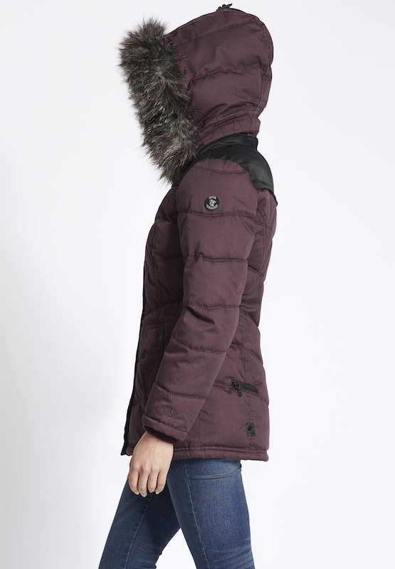 khujo Jacke 'WINSEN II WITH RIB COLLAR'