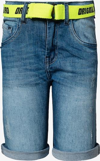 STACCATO Shorts in blue denim / limone / schwarz, Produktansicht