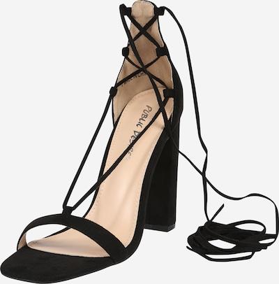 Public Desire Sandale 'FRANKIE' in schwarz, Produktansicht