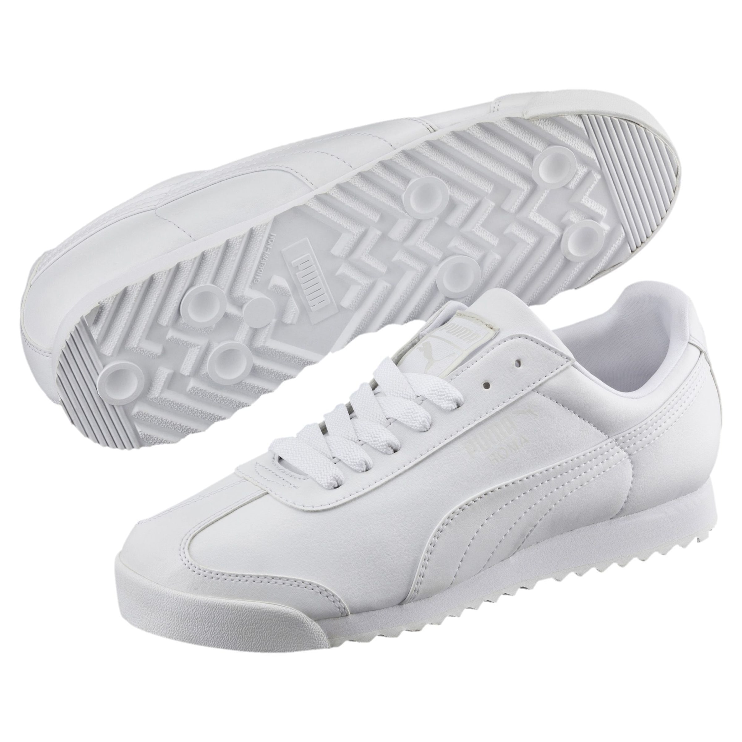 'roma Puma Basic' Offwhite Sneaker In CBWroEQdex