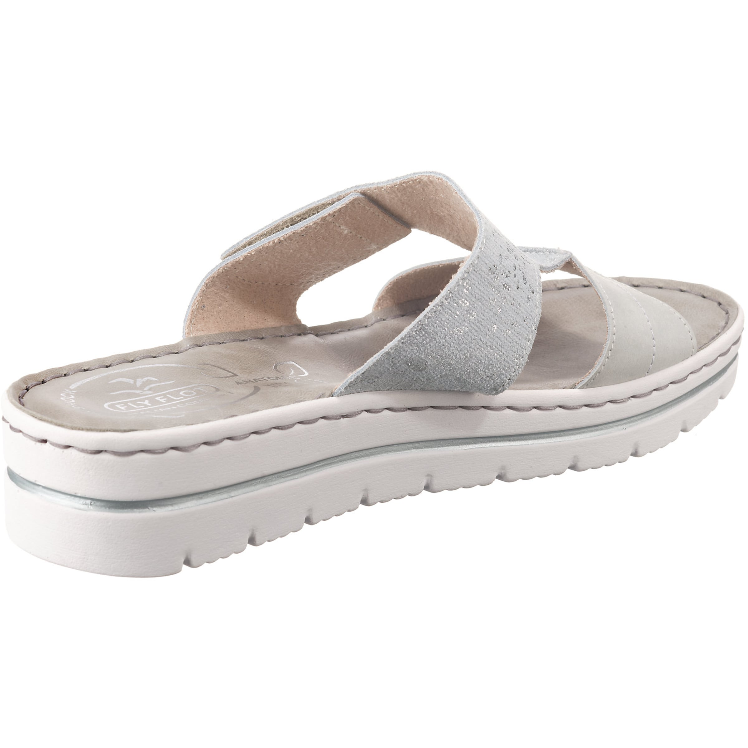 Pantoffeln In Silber In Pantoffeln Fly Flot Flot Silber Fly eWoCBxdr