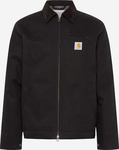 Carhartt WIP Jacke 'Detroit' in dunkelbraun / schwarz, Produktansicht