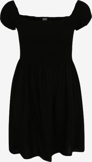 Urban Classics Kleid 'Smoked' in schwarz: Frontalansicht