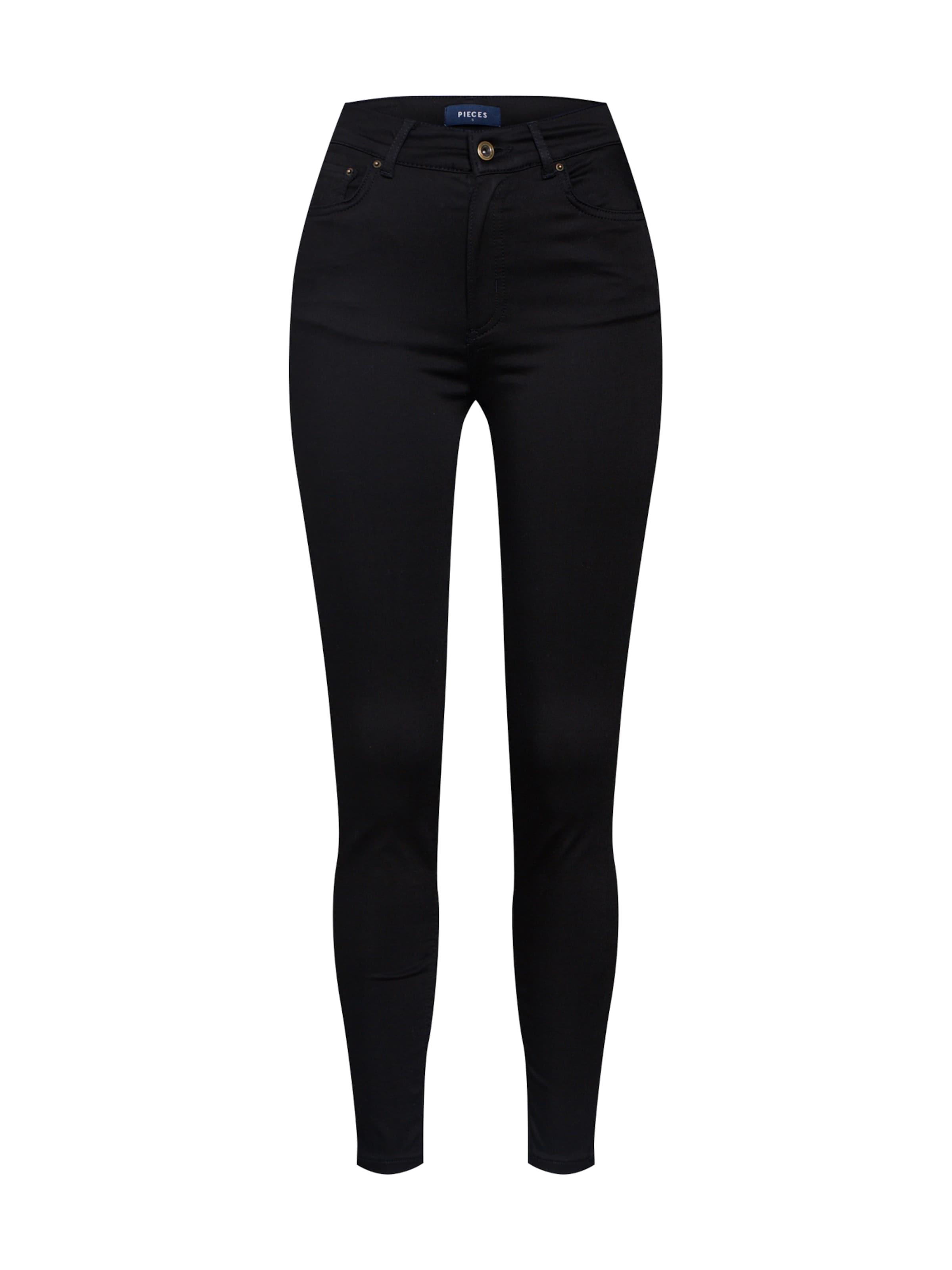 In Pieces 'pcnora noos' Bl617 Jeans Schwarz Black Skn Ank Hw Stay erWodxCB