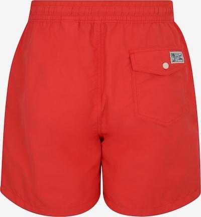 POLO RALPH LAUREN Kąpielówki 'TRAVELER-SWIM' w kolorze czerwonym: Widok od tyłu