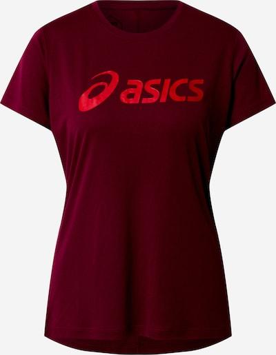 ASICS Shirt 'SILVER' in beere, Produktansicht