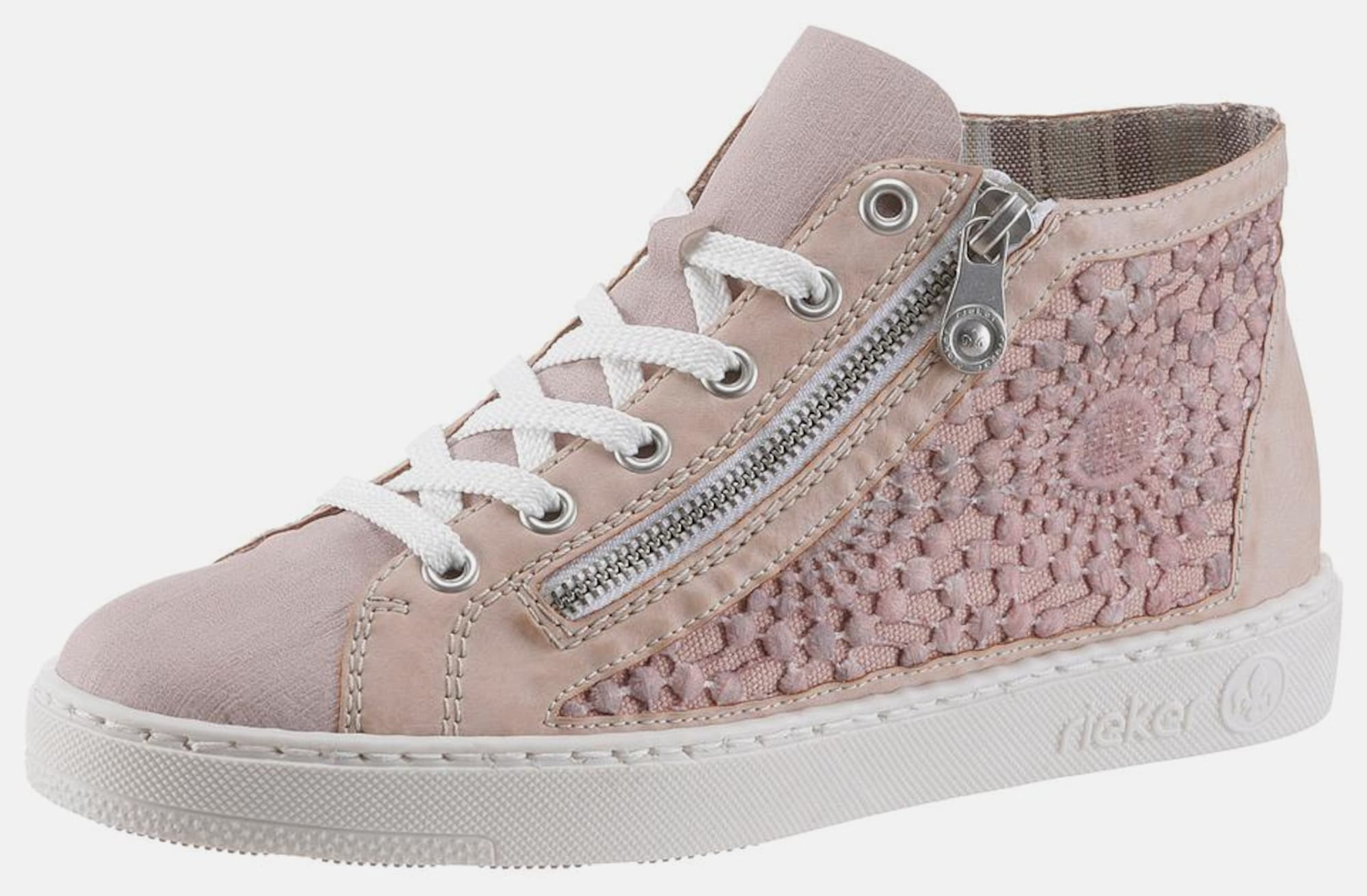 rieker sneaker mit spitze in pink about you. Black Bedroom Furniture Sets. Home Design Ideas
