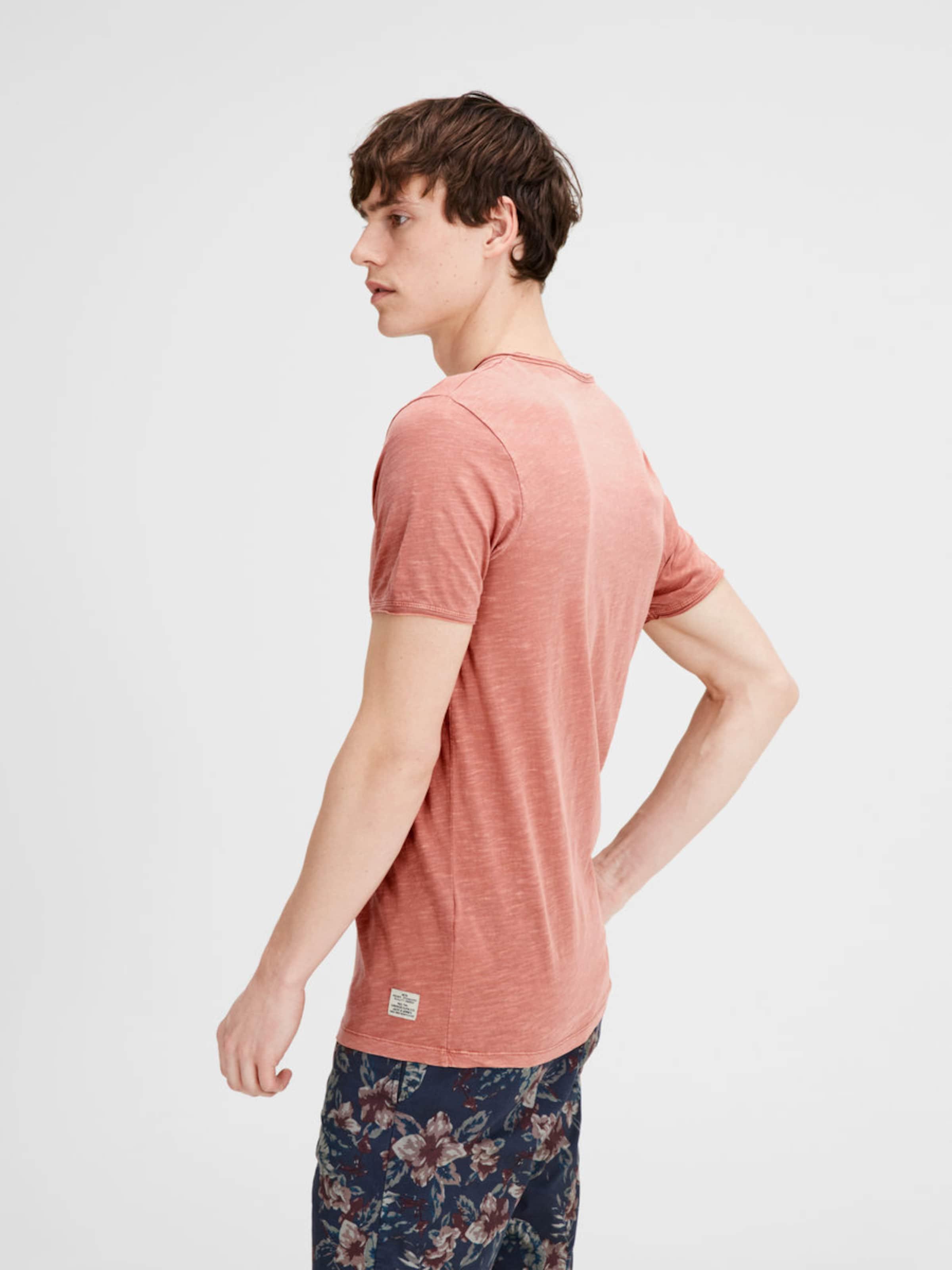 Billigsten Günstig Online JACK & JONES Split-Neck T-Shirt Outlet-Store Günstig Online ekPBY