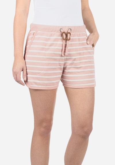 Blend She Sweatshorts 'Kira' in rosa / weiß, Produktansicht