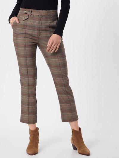 Pepe Jeans Spodnie 'LIA' w kolorze brązowym, Podgląd na modelu(-ce)
