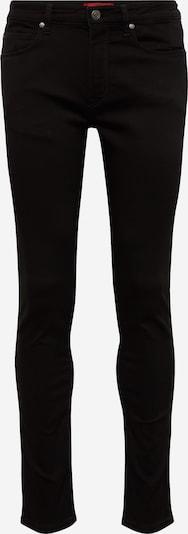 HUGO Jeans '734' in black denim, Produktansicht