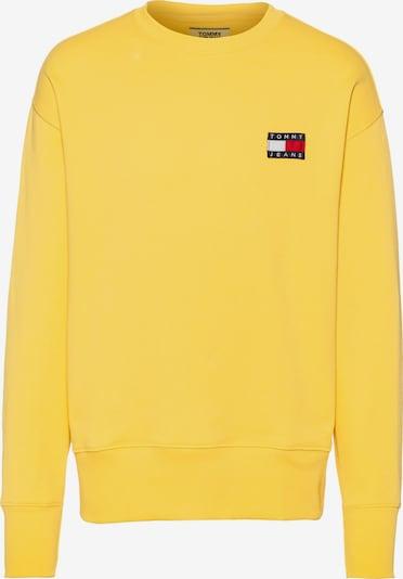 Tommy Jeans Sweatshirt in de kleur Geel, Productweergave