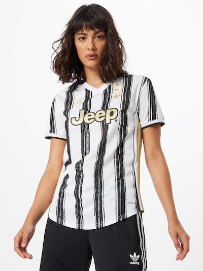 ADIDAS PERFORMANCE Koszulka funkcyjna 'Juve' w kolorze żółty / czarny / białym: Widok z przodu