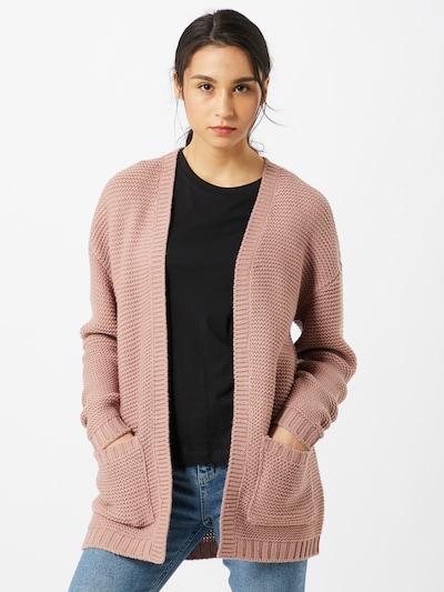 VERO MODA Strickcardigan in rosa, Modelansicht