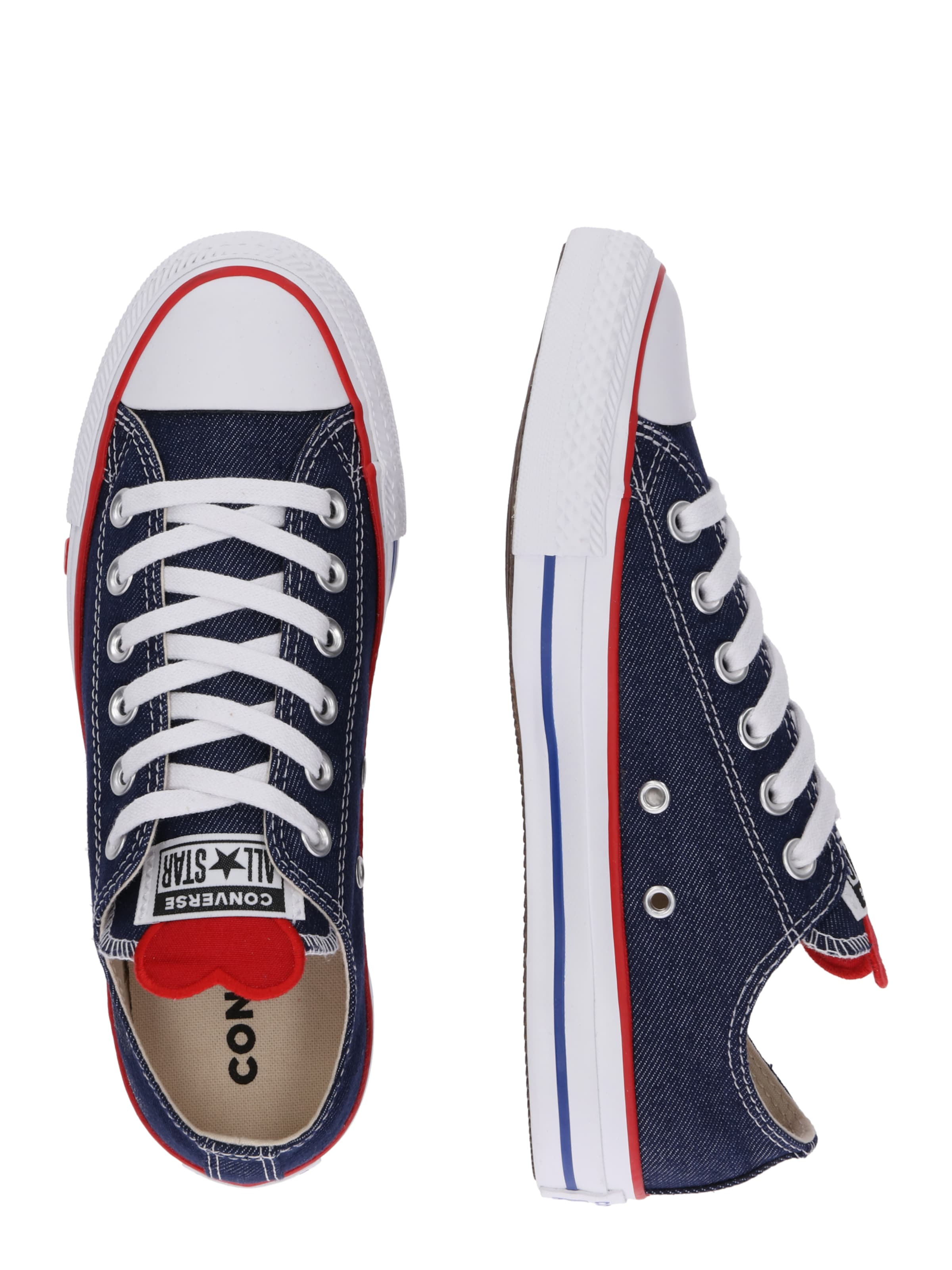 DenimWeiß Blue Converse 'chucks' In Sneaker 8m0Nwnv