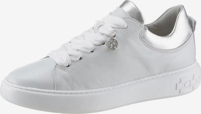 PETER KAISER Sneakers laag in de kleur Zilver / Wit: Vooraanzicht
