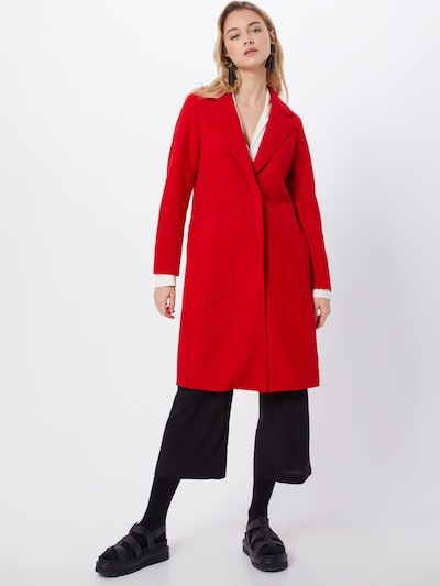 ONLY Mantel 'ONLAMINA COAT' in rot, Modelansicht