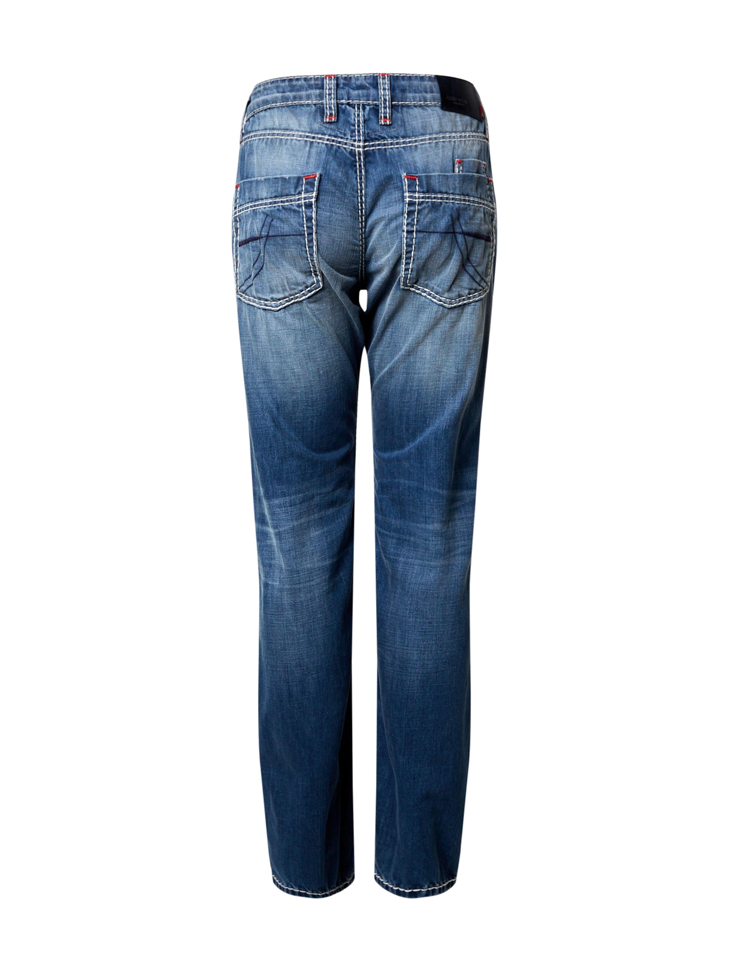 CAMP DAVID Jeans in blue denim Jeans CPD0182001000001