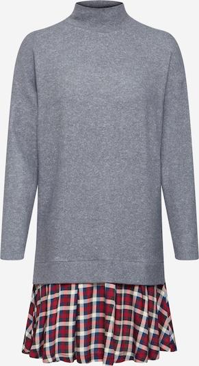 EDC BY ESPRIT Obleka | siva / vinsko rdeča barva, Prikaz izdelka