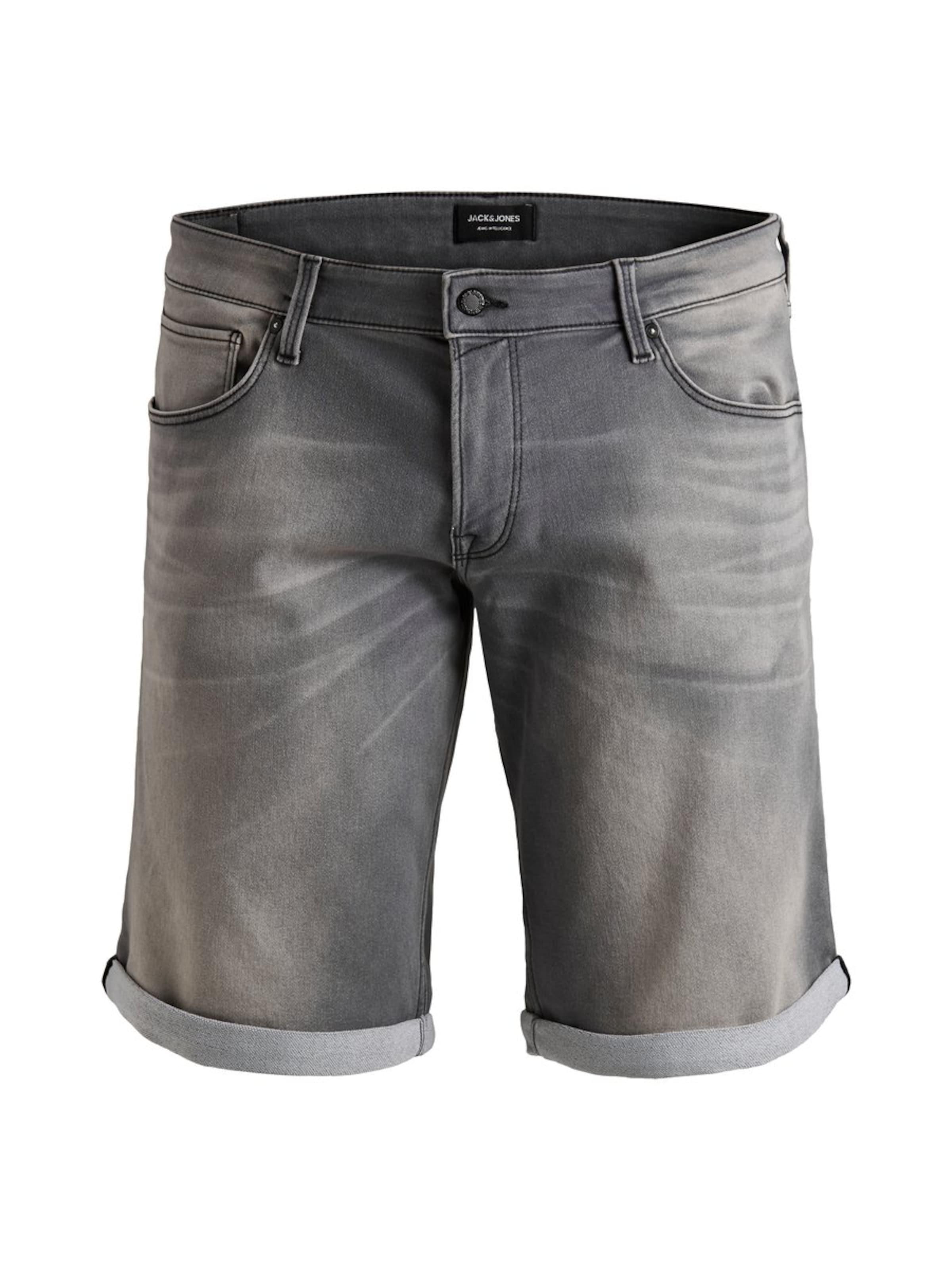 Jones In Shorts Grey Denim Jackamp; lFKTc1J