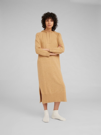 EDITED Kleid 'Lulani' in camel, Modelansicht
