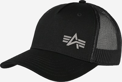Șapcă 'Trucker' ALPHA INDUSTRIES pe negru, Vizualizare produs