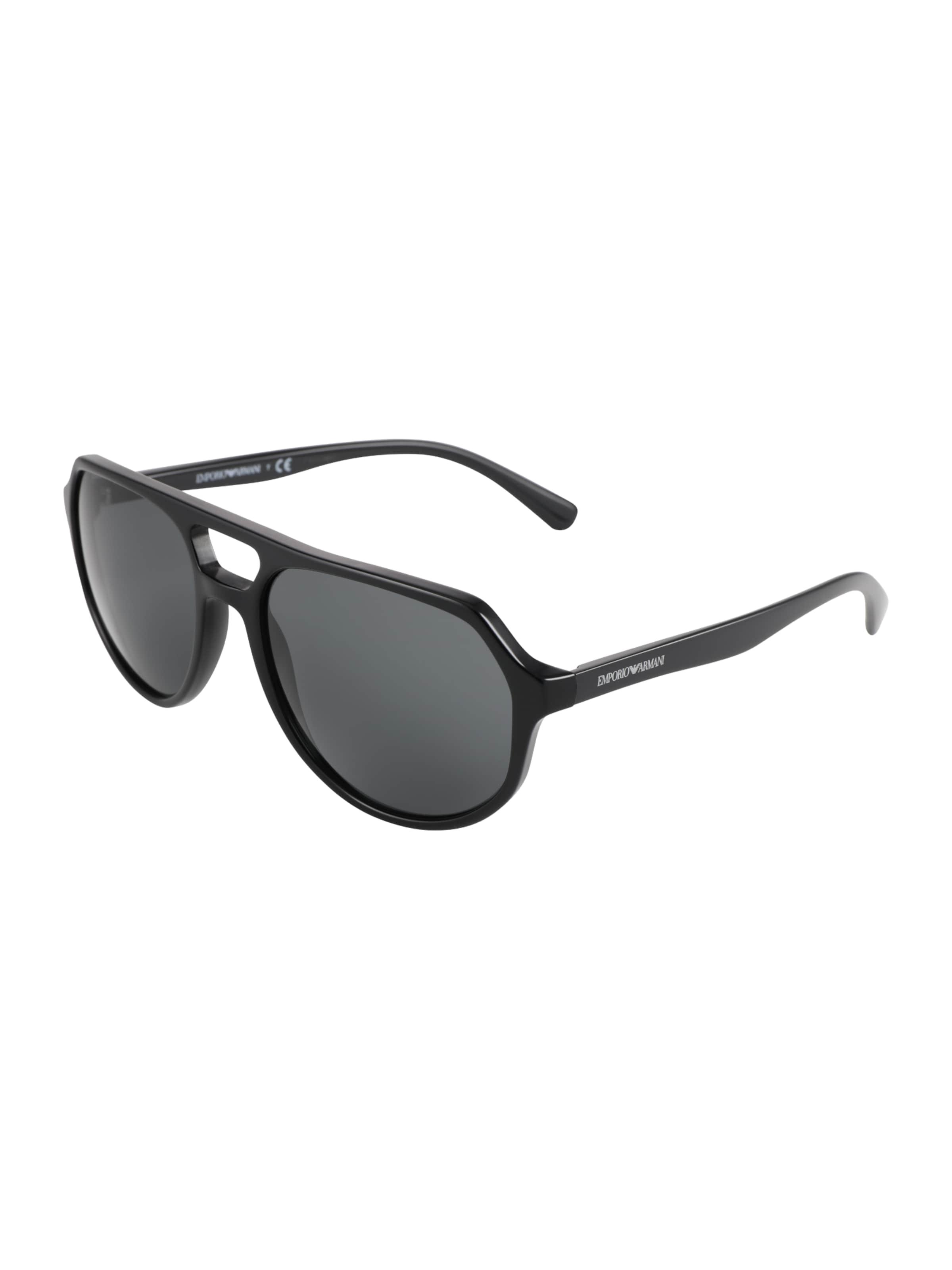 Schwarz In Armani Emporio Emporio Sonnenbrille nwP80Ok