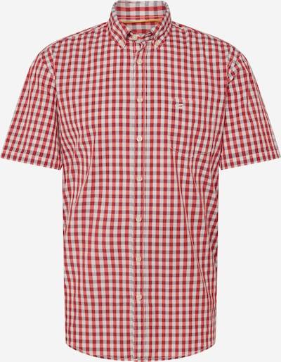 CAMEL ACTIVE Chemise 'HEMD/SHIRT' en rouge / blanc, Vue avec produit