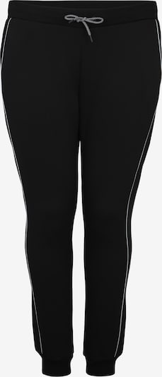 Urban Classics Curvy Jogginghose 'Ladies Reflective Sweatpants' in schwarz, Produktansicht