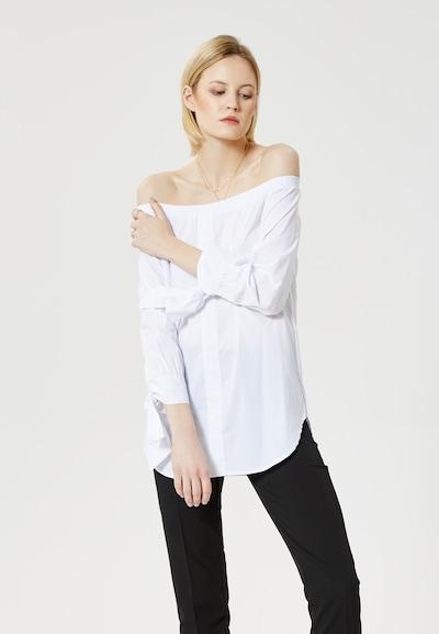 RISA Blouse in de kleur Wit: Vooraanzicht