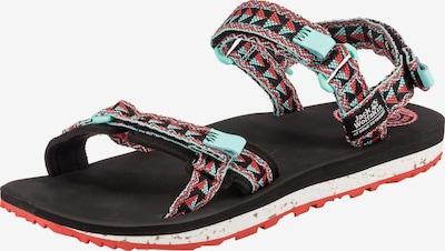 JACK WOLFSKIN Sandały trekkingowe 'Outfresch' w kolorze turkusowy / czerwony / czarnym, Podgląd produktu