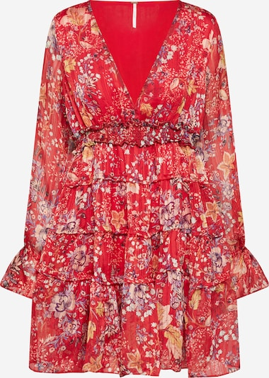 Free People Kleid 'CLOSER TO THE HEART' in rot, Produktansicht