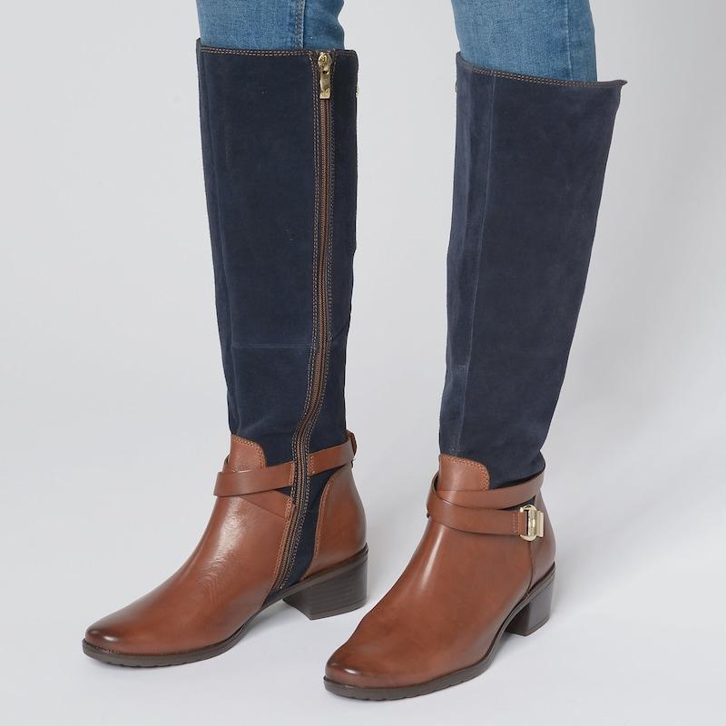 CAPRICE Damen Stiefel Schuhe echt Leder Leder Leder Größe
