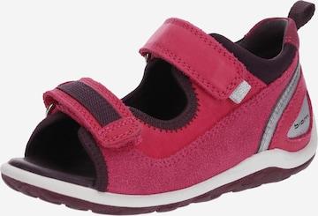 Sandales 'Biom Mini' ECCO en rose