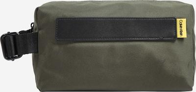 Calvin Klein Toaletna torbica 'NASTRO LOGO' | oliva barva, Prikaz izdelka
