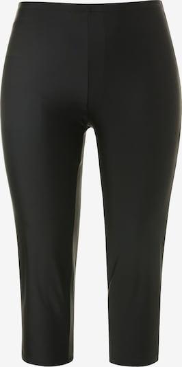 Ulla Popken Shorts de bain en noir, Vue avec produit