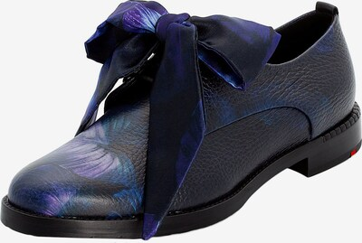 LLOYD Schnürschuhe mit großer Schleife in schwarz, Produktansicht