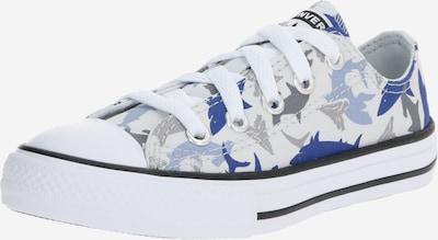 CONVERSE Sneaker 'SHARK BITE - OX' in blau / grau / weiß, Produktansicht