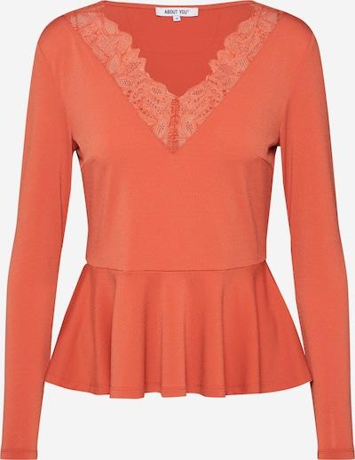 ABOUT YOU Shirt 'Janine' in de kleur Koraal, Productweergave