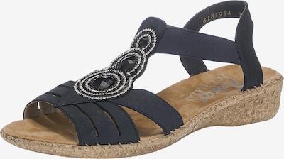 RIEKER Sandalen met riem in de kleur Nachtblauw, Productweergave