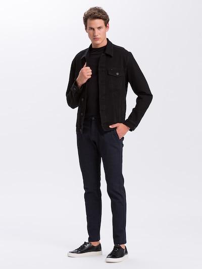Cross Jeans Hose in nachtblau: Frontalansicht